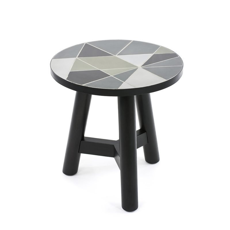 round designer side tables