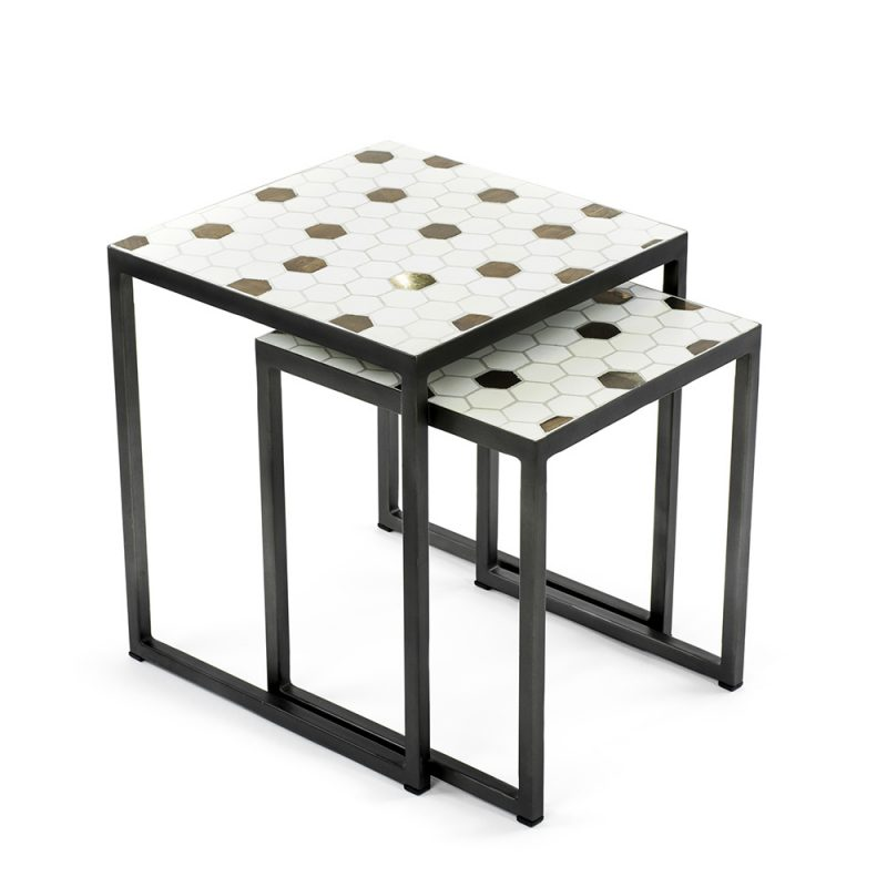 Vienna_Woods_Mosaic_Table_Square_HoneyComb_01