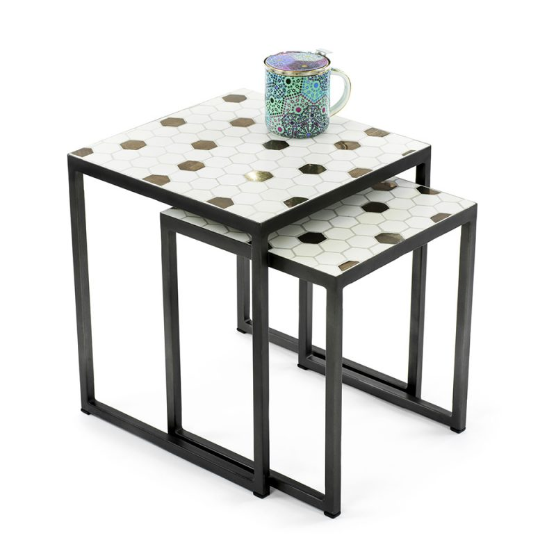 Vienna_Woods_Mosaic_Table_Square_HoneyComb_02
