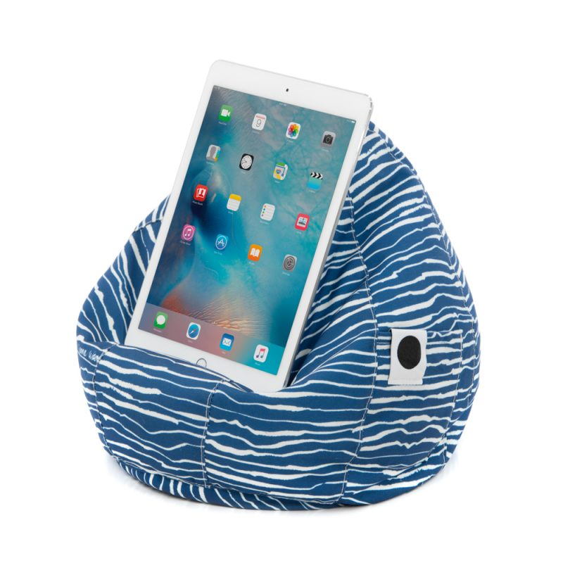 ipad cushion blue