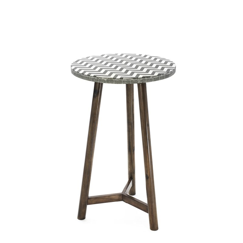 cool round bar tables